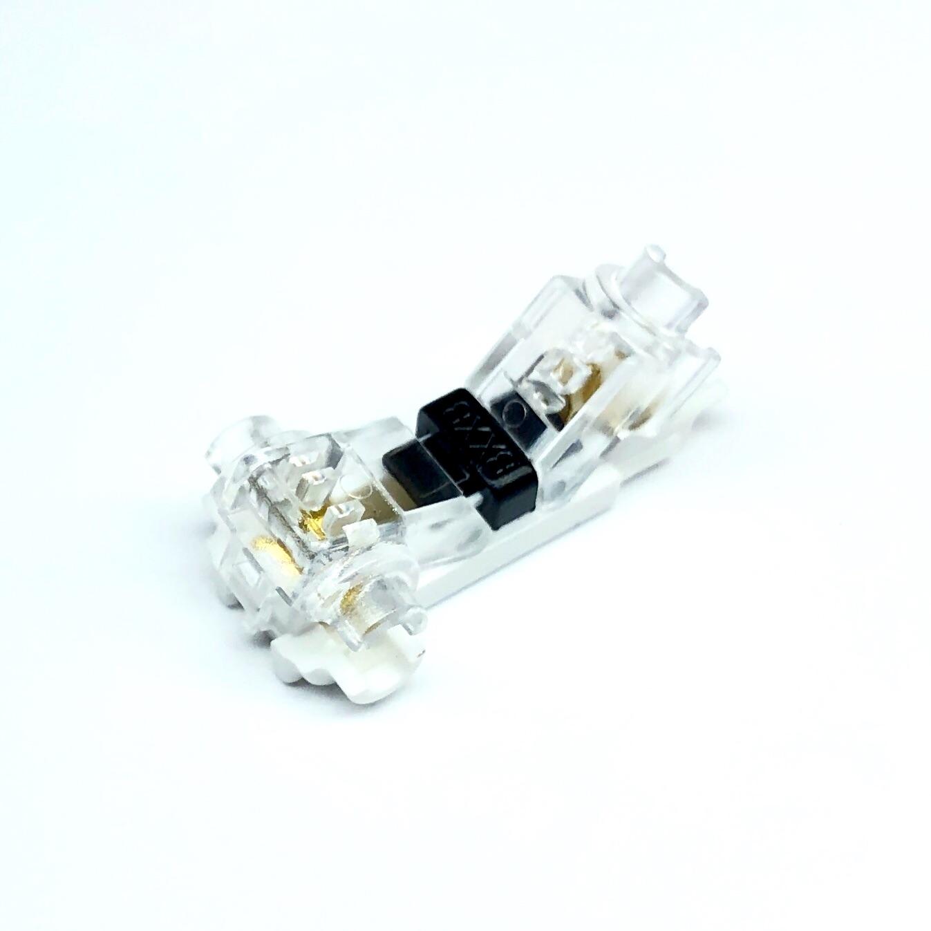 Reusable Scotchlok quick splice connectors H1x6 T1x4