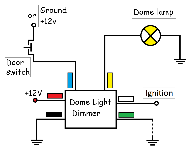 Best Dome Light Dimmer Circuit