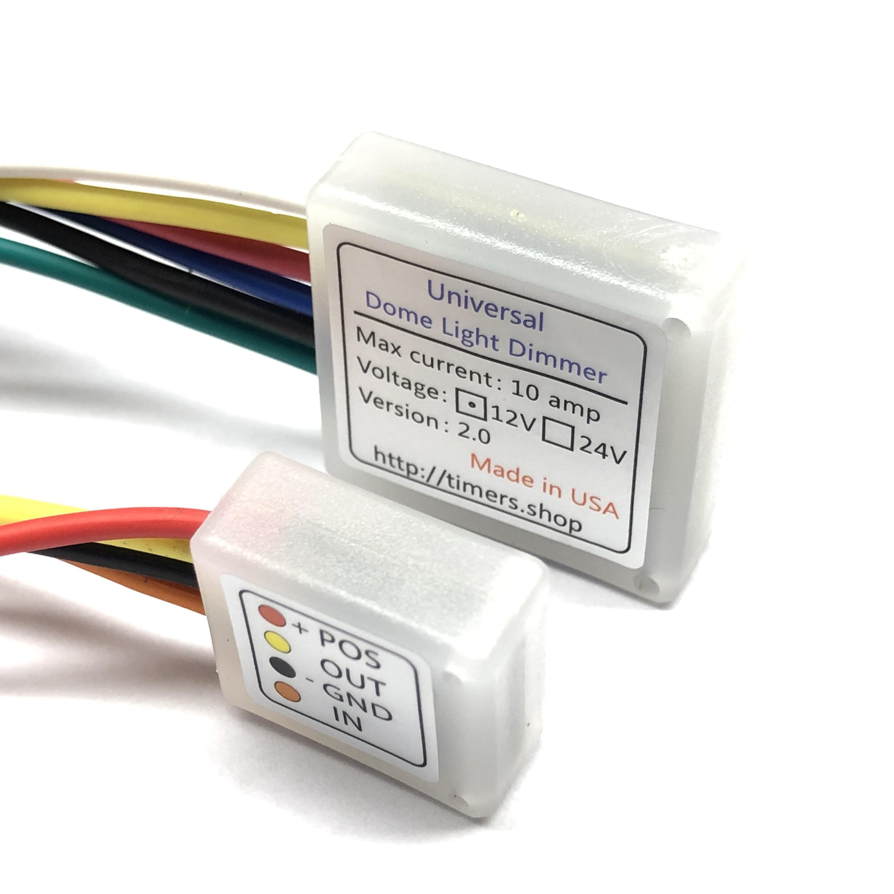 Electronic Lamp Dimmer Circuit 12v Light Dimmer Circuit