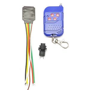 Remote control with built-in decoy timer. (Receiver + Remote) 6 -18V